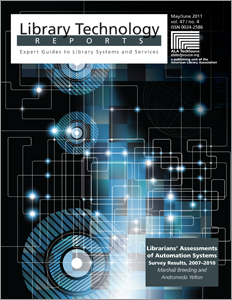 New book: Librarians' Assessments of Automation Systems: Survey Results, 2007–2010