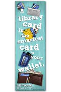 Library Card Sign-up Poster