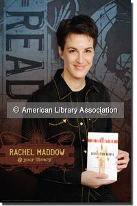 Rachel Maddow Read Poster
