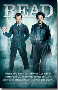 American Library Assocation Sherlock Holmes Poster