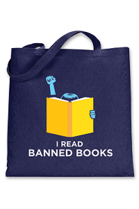 I Read Banned Books Tote