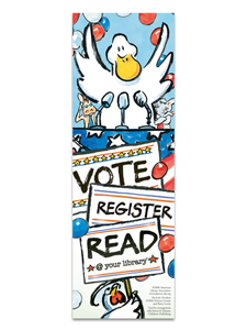 Image for Duck for President Bookmark