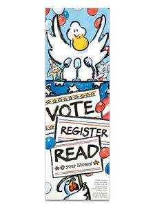 Image for Duck for President Bookmark