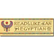 Read Like an Egyptian Bookmark