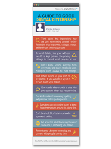 Image for Good Digital Citizen Bookmark