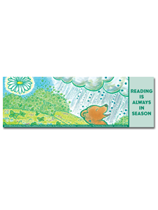 Image for Old Bear Bookmark Summer