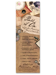 Image for Preservation Bookmark