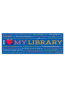 Image for I Love My Library Bookmark