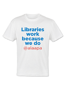Image for Libraries Work T-shirt