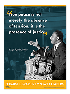 MLK Libraries Transform Poster