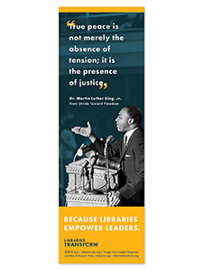 MLK Libraries Transform Bookmark