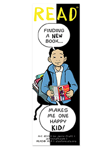 Image for New Kid Bookmark