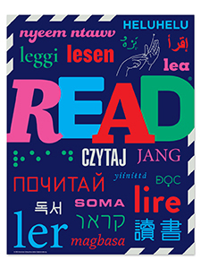 Image for Read Around the World Poster