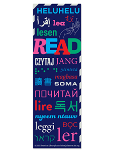 Read Around the World Bookmark