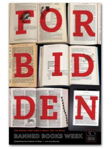 Image for 2012 Forbidden Books Poster