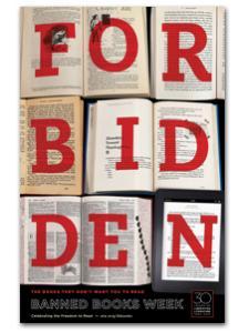 Image for 2012 Forbidden Books Poster