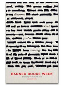 Image for 2013 Banned Books Week Poster