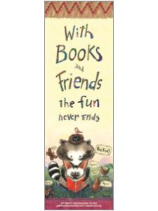 Image for Books and Friends Bookmark