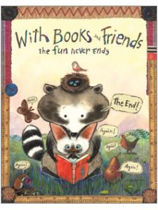 Image for Books and Friends Poster