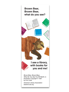 Image for Brown Bear Bookmark