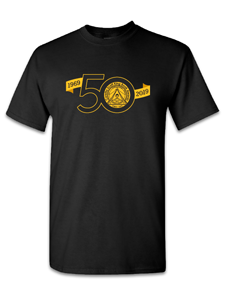 Image for CSK 50th Anniversary Black T-shirt