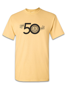 Image for CSK 50th Anniversary Yellow T-shirt