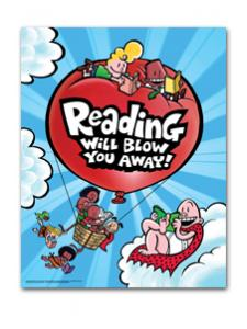 Image for Captain Underpants Reading Poster