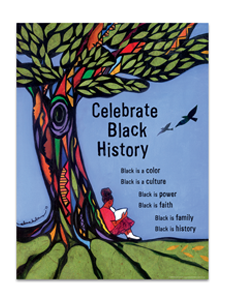 Image for Celebrate Black History Poster