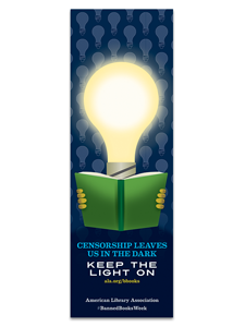 Image for Censorship Leaves Us in the Dark Bookmark