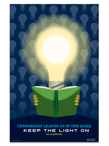 Image for Censorship Leaves Us in the Dark Poster