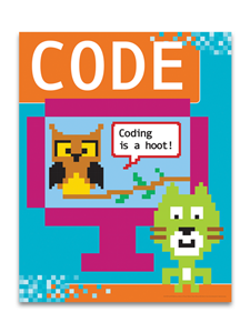 Image for Coding is a Hoot Poster