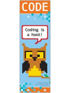 Image for Coding is a Hoot Bookmark