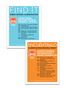 Image for Dewey® Class Signs English/ Spanish Set