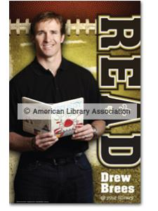Image for Drew Brees Poster