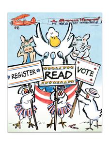 Image for Duck for President Poster