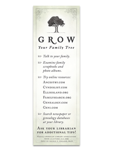 Family Tree Bookmark