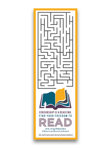Find Your Freedom to Read Bookmark