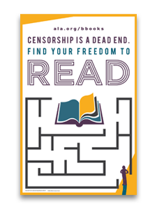 Find Your Freedom to Read Poster