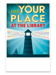 Image for Find Your Place Mini Poster
