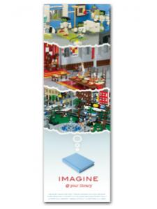 Image for Imagine Bookmark