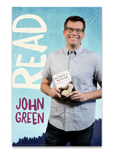 Image for John Green Read Poster