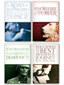 Image for Knowledge is Power Poster Set