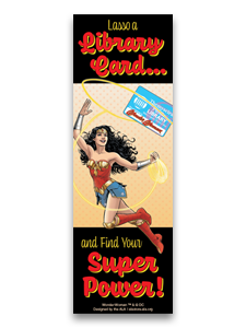 Image for Lasso a Library Card Bookmark