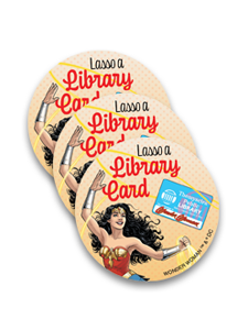 Image for Lasso a Library Card Stickers