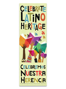 Latino Heritage Bookmark