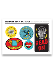 Library Tech Tattoos