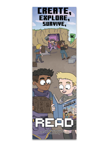 Image for Minecraft Bookmark
