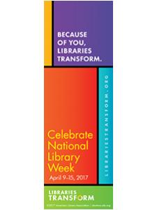 Image for 2017 National Library Week Bookmark