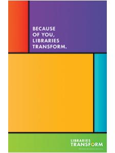 Image for Libraries Transform Mini Poster