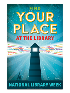 2020 National Library Week Poster